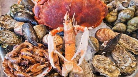 Restaurant fruit de mer de Bretagne