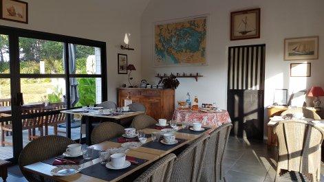 Chambre hôtes et table hôtes à Locoal Mendon