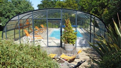 Chambre hôtes avec piscine Quiberon dans le Morbihan